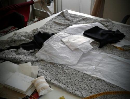 Hoy domingo en el Atelier preparando nuevos encargos.